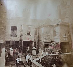 An Old Public House in King Street in Kensington, said to be 200 years old at the time it was photographed in 1869 is in a book of old photographs to be auctioned at Bonhams. Bonhams, Knightsbridge, London, November 23 2018.