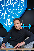 PayPal CEO Dan Schumann poses for a portrait at PayPal Headquarters in San Jose, California, on April 2, 2021. (Stan Olszewski for Silicon Valley Business Journal)