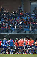 Groupe France - 11.03.2015 - Rugby -Entrainement France -Marcoussis<br />Photo : Andre Ferreira / Icon Sport