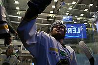 GET-ligaen Ice Hockey, 27. october 2016 ,  Stavanger Oilers v Stjernen<br />Henrik Medhus fra Stavanger Oilers etter kampen mot Stjernen<br />Foto: Andrew Halseid Budd , Digitalsport