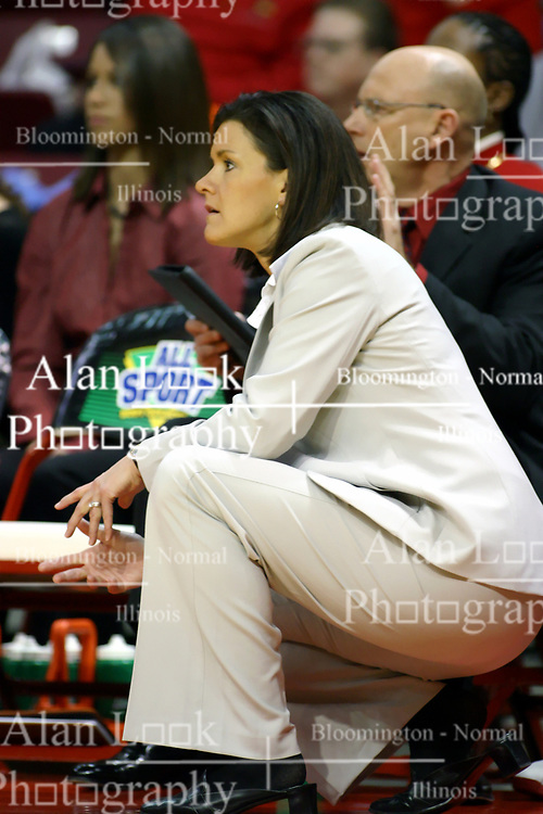 13 January 2007: Robin Pingeton. The Missouri State Bears lost to the Redbirds of Illinois State University at Redbird Arena in Normal Illinois by a score of 76-47.<br />