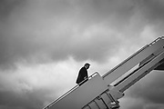 WASHINGTON, D.C. - JULY 10: President Donald Trump boards Air Force 1 on his way to multiple events in Florida at Joint Base Andrews, Md. on July 10, 2020. NYTVIRUS
