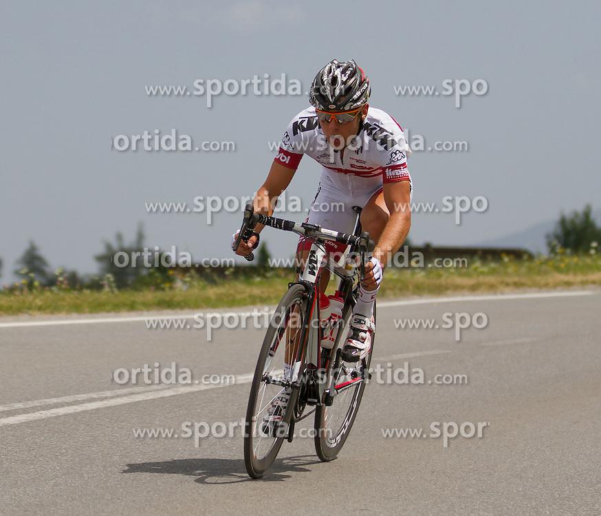 01.07.2012, Innsbruck, AUT, 64. Oesterreich Rundfahrt, 1. Etappe, EZF Innsbruck, im Bild Stefan Praxmarer during the 64rd Tour of Austria, Stage 1, Individual time trial in Innsbruck, Austria on 2012/07/01