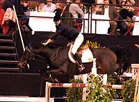 Rikstoto Grand Prix, Oslo Horse Show, Oslo Spektrum 19.10.02 <br />Saturday, October 19th 2002. GORDINO 21 \ Christian ANFINNSEN OIEN (NOR)<br /> <br />Foto: Geir Egil Skog, Digitalsport