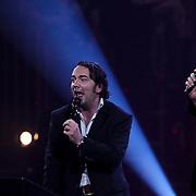 NLD/Amsterdam/20100415 - Uitreiking 3FM Awards 2010, Giel Beelen, Gerard  Ekdom en Sander Lantinga