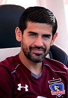 Chile League - Scotiabank 1 Division 2018 / <br /> ( C.S.D. Colo Colo ) - <br /> Julio Alberto Barroso