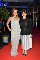 ARLEN PHILLIPS and her daughter ALANA PHILLIPS at Battersea Dogs & Cats Home's Collars & Coats Gala Ball held at Battersea Evolution, Battersea Park, London on30th October 2014.