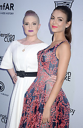 Kelly Osbourne and actress Victoria Justice attending the amfAR generationCURE Solstice at Mr. Purple on June 20, 2017 in New York City, NY, USA. Photo by Dennis Van Tine/ABACAPRESS.COM