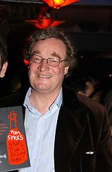 CHRISTOPHER SYKES at a party to celebrate the publication of Tom Sykes's book 'What Did I Do Last Night?' held at Centuary, Shaftesbury Avenue, London on 16th January 2007.<br /><br />NON EXCLUSIVE - WORLD RIGHTS