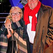NLD/Hilversum/20120123 - Beeld en Geluid Awards 2011, Jeroen Krabbe en partner Herma