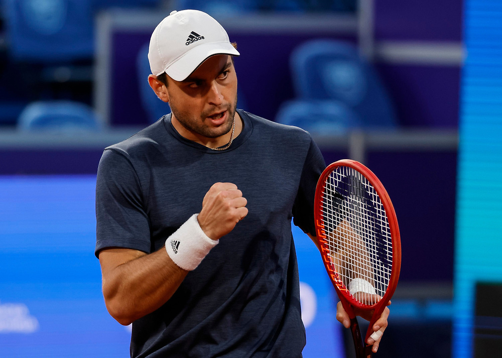 Tennis-ATP Serbia Open Belgrade 2021<br /> Aslan Karatsev (RUS) v Aljaz Bedene (SLO)<br /> Beograd, 22.04.2021.<br /> foto: Srdjan StevanovicStarsportphoto ©