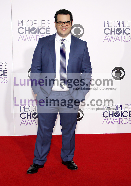 Josh Gad at the 41st Annual People's Choice Awards held at the Nokia L.A. Live Theatre in Los Angeles on January 7, 2015. Credit: Lumeimages.com