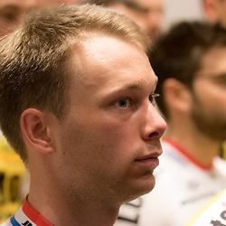 08-01-2016: Wielrennen: Presentatie Lotto Jumbo: Den Bosch<br />'s-HERTOGENBOSCH (NED) wielrennen<br />Team Lotto-Jumbo werd gepresenteerd op het HQ van Brand Loyalty<br />Steven Lammertink (Enter)