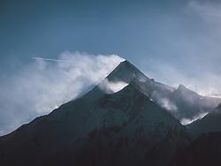 THEMENBILD - Blick auf das Kitzsteinhorn, aufgenommen am 16. Januar 2021 in Kaprun, Österreich // View of the Kitzsteinhorn Mountain, Kaprun, Austria on 2021/01/16. EXPA Pictures © 2021, PhotoCredit: EXPA/ JFK