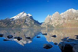 """Jenny Lake, reflections, Grand Tetons<br /> <br /> For production prints or stock photos click the Purchase Print/License Photo Button in upper Right; for Fine Art """"Custom Prints"""" contact Daryl - 208-709-3250 or dh@greater-yellowstone.com"""