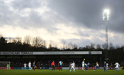 A general view of action between Wycombe Wanderers' and Coventry City
