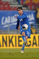 """Alberto AQUILANI Italia<br /> Klagenfurt, 17/11/2010 Stadio """"Wortersee""""<br /> Italia-Romania<br /> Amichevole internazionale<br /> Foto Nicolo' Zangirolami Insidefoto"""