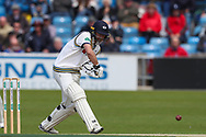 Adam Lyth of Yorkshire during the opening day of the Specsavers County Champ Div 1 match between Yorkshire County Cricket Club and Hampshire County Cricket Club at Headingley Stadium, Headingley, United Kingdom on 27 May 2019.