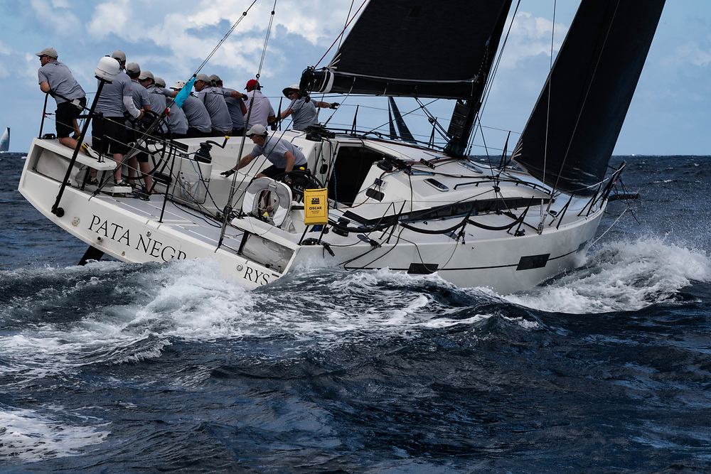 Pata Negra is a prototype Lombard 46 designed by Marc Lombard in 2016 to race under IRC. With yachts such as Beneteau Figaro's, IMOCA 60's, and Class 40's to his name, Pata Negra is designed by one of the world's most renowned naval architects and yacht designers.<br />  <br /> With her powerful, fast hull she excells both inshore and offshore, with some great results to demonstrate this. <br />  <br /> Pata Negra is avaliable to charter throughout the 2019/20 season both in the UK and in the Carribean.
