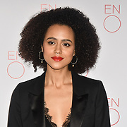 Nathalie Emmanuel Arrivals at La Bohème VIP Performance on 29 January 2019 at London Coliseum, London, UK.