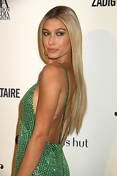 September 6, 2018 - New York City, New York, U.S. - Model HAILEY BALDWIN attends the Daily Front Row 6th Annual Fashion Media Awards held at the Park Hyatt New York. (Credit Image: © Nancy Kaszerman/ZUMA Wire)