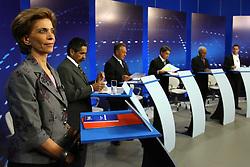 A candidata ao governo do Estado do RS, Yeda Crusius, durante o debate da RBS, na noite desta terça-feira, em porto Alegre. FOTO: Jefferson Bernardes/Preview.com