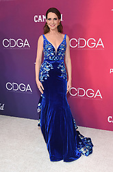 February 19, 2019 - Beverly Hills, California, U.S. - Janie Bryant  arrives for the 21st CDGA (Costume Designers Guild Awards) at the Beverly Hilton Hotel. (Credit Image: © Lisa O'Connor/ZUMA Wire)