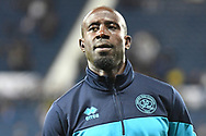 QPR midfielder Albert Adomah (37) during the EFL Sky Bet Championship match between West Bromwich Albion and Queens Park Rangers at The Hawthorns, West Bromwich, England on 24 September 2021.