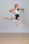 The Dance Company of Los Gatos students pose for portraits during Photo Day at The Dance Company of Los Gatos in Los Gatos, California, on May 31, 2017. (Stan Olszewski/SOSKIphoto)