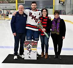 2019-03-02 Robert Morris Men's Hockey Senior Day vs. Mercyhurst