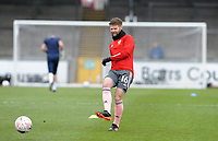 Sheffield United's Oliver Norwood during the pre-match warm-up <br /> <br /> Photographer Ian Cook/CameraSport<br /> <br /> The Emirates FA Cup Third Round - Bristol Rovers v Sheffield United - Saturday 9th January 2021 - Memorial Stadium - Bristol<br />  <br /> World Copyright © 2021 CameraSport. All rights reserved. 43 Linden Ave. Countesthorpe. Leicester. England. LE8 5PG - Tel: +44 (0) 116 277 4147 - admin@camerasport.com - www.camerasport.com