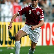 Denmark's Jesper Gronkjaer