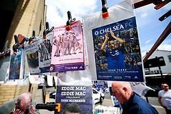John Terry's picture is seen on an old programme for sale  outside the stadium ahead of his final Chelsea game before retirement - Rogan Thomson/JMP - 21/05/2017 - FOOTBALL - Stamford Bridge - London, England - Chelsea v Sunderland - Premier League..