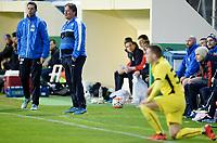Fotball , 26.  januar 2016 , privatkamp<br /> Strømsgodset - Dinamo Zagreb 2-0<br /> n trener Bjørn Petter Ingebretsen , SIF og ass. trener THOMAS ANDRE ØDEGAARD