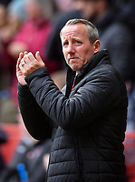 Football - 2018 / 2019 Sky Bet EFL Championship - Charlton Athletic vs. Luton Town<br /> <br /> Charlton Athletic manager Lee Bowyer, at The Valley.<br /> <br /> COLORSPORT/ASHLEY WESTERN