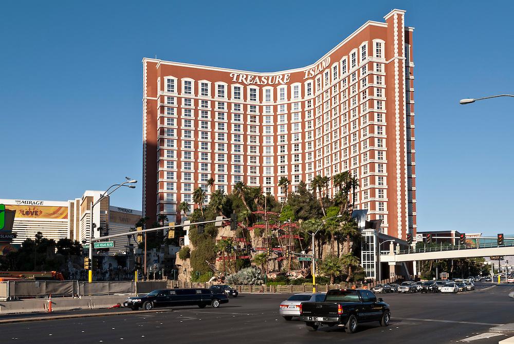 USA,Vereinigte Staaten,Nevada,Las Vegas, Ansicht Hotel Treasure Island