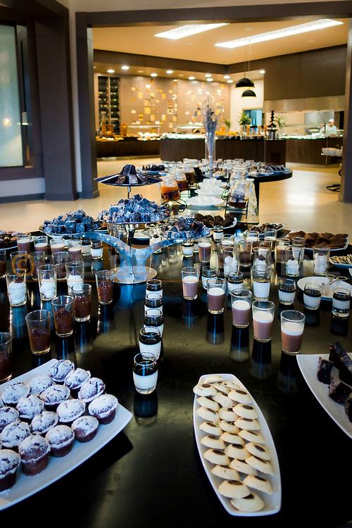 06-10-2015 -  Foto van Zeer zoete desserts bij Pullman Marrakech Palmeraie Resort and Spa in Marrakech, Marokko.