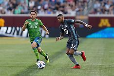 Minnesota United FC v Seattle Sounders FC -  04 August 2018