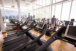 Gym at Basildon Sporting Village, Essex UK