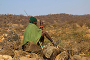 Samburu Maasai man Samburu Maasai an ethnic group of semi-nomadic people Photographed in Samburu, Kenya