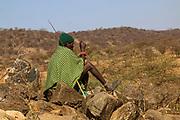 Samburu Maasai man Samburu Maasai an ethnic group of semi-nomadic people Photographed in Samburu, Kenya