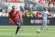Manchester United Defender Phil Jones during the AON Tour 2017 match between Real Madrid and Manchester United at the Levi's Stadium, Santa Clara, USA on 23 July 2017.