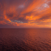 Somewhere off Baja- oh great another sunset!- REAL ORIGINAL