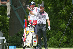 May 25, 2019 - Fort Worth, TX, U.S. - FORT WORTH, TX - MAY 25: Rory Sabbatini selects a club on the 6th hole during the third round of the Charles Schwab Challenge on May 25, 2019 at Colonial Country Club in Fort Worth, TX. (Photo by George Walker/Icon Sportswire) (Credit Image: © George Walker/Icon SMI via ZUMA Press)