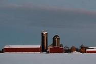 Winter scene  in the Town of Wallkill, N.Y., on Dec. 17, 2020.