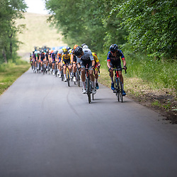 WIJSTER (NED) June 19: <br /> CYCLING <br /> Dutch Nationals Road U23 up and around the Col du VAM<br /> Peloton in action