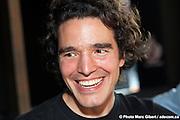 Portrait durant l'émission de Francophonie Express réalisée en direct par Louis Moubarak. Photo Marc Gibert / adecom.ca -  La Quincaillerie / Montreal / Canada / 2011-04-10, Marc Gibert/ adecom.ca -  La Quincaillerie / Montréal / Canada / 2011-06-07, Photo : © Marc Gibert/ adecom.ca