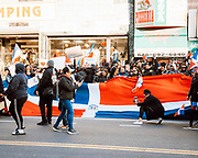 Dominican Protest In Washington Heights, February 22, 2020
