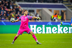 November 6, 2019, Milano, Italy: claudio bravo (manchester city)during Tournament round, group C, Atalanta vs Manchester City, Soccer Champions League Men Championship in Milano, Italy, November 06 2019 - LPS/Fabrizio Carabelli (Credit Image: © Fabrizio Carabelli/LPS via ZUMA Wire)