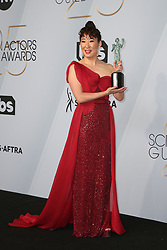 LOS ANGELES, CA - JANUARY 27: Rachel Brosnahan at The 25th Annual Screen Actors Guild Awards - Press Room at the Shrine Auditorium in Los Angeles, California on January 27th, 2019. 27 Jan 2019 Pictured: Sandra Oh. Photo credit: MPIFS/Capital Pictures / MEGA TheMegaAgency.com +1 888 505 6342